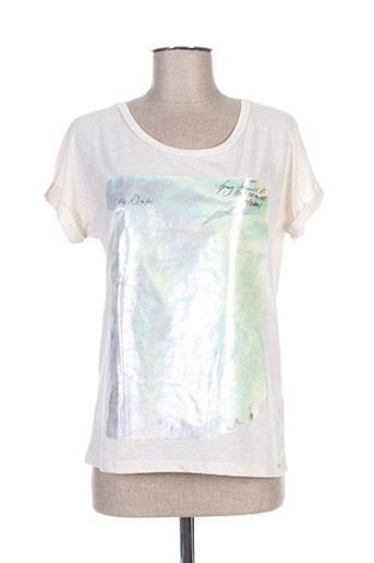 hugo boss t-shirts femme de couleur beige