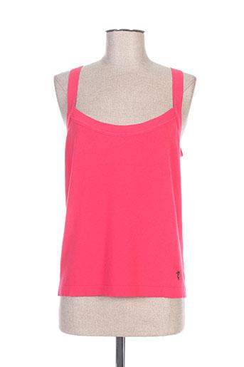 trussardi jeans chemises femme de couleur rose