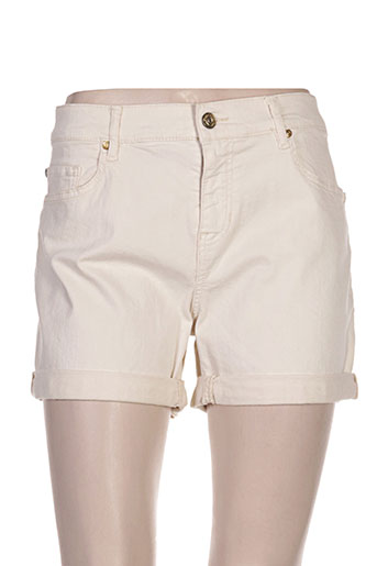 hugo boss shorts / bermudas femme de couleur beige