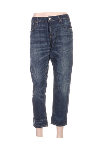 ralph lauren jeans femme de couleur bleu
