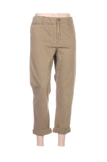 ralph lauren pantalons femme de couleur vert