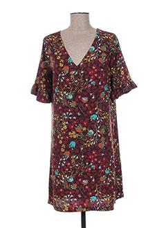 Robe courte marron MAMOUCHKA pour femme