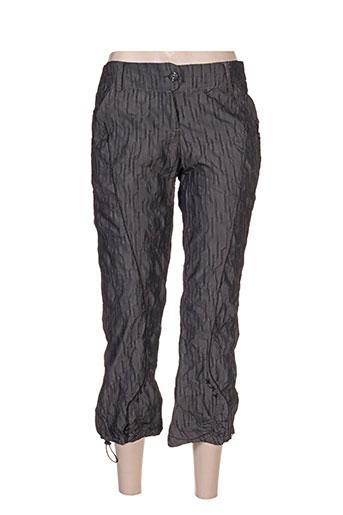l33 pantacourts femme de couleur gris
