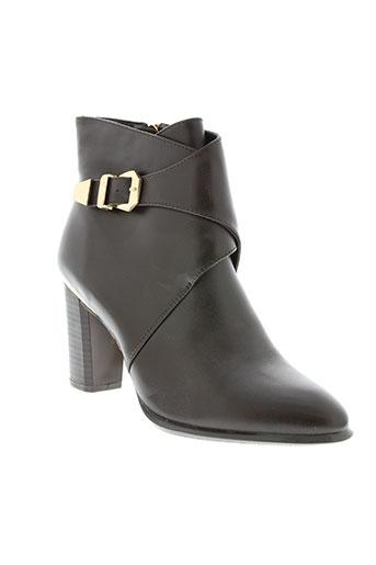 raxmax chaussures femme de couleur marron