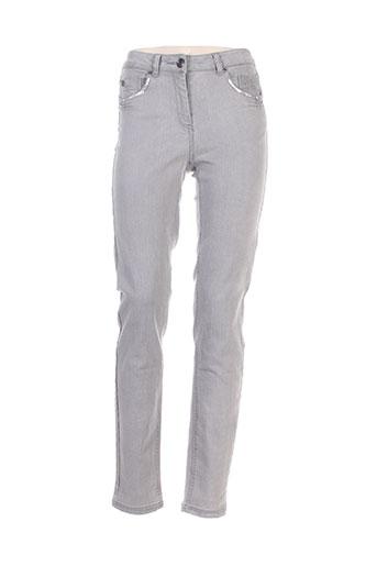 elora jeans femme de couleur gris