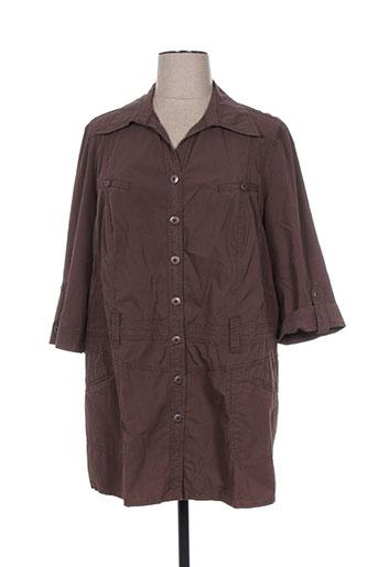 kjbrand tuniques femme de couleur marron