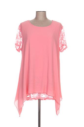pomme rouge chemises femme de couleur rose