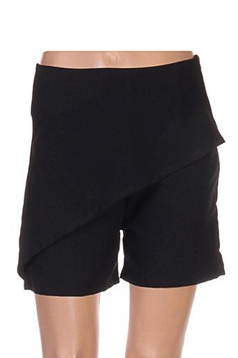 mey shorts / bermudas femme de couleur noir