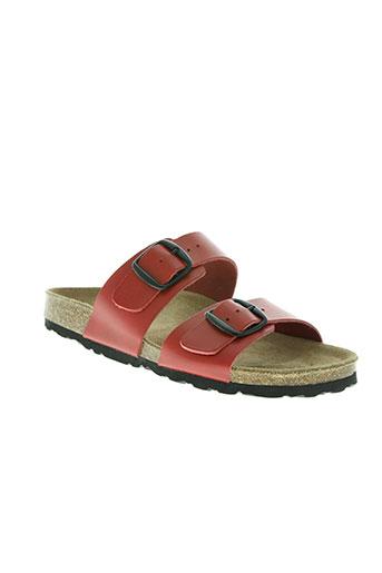 raquel perez chaussures femme de couleur rouge