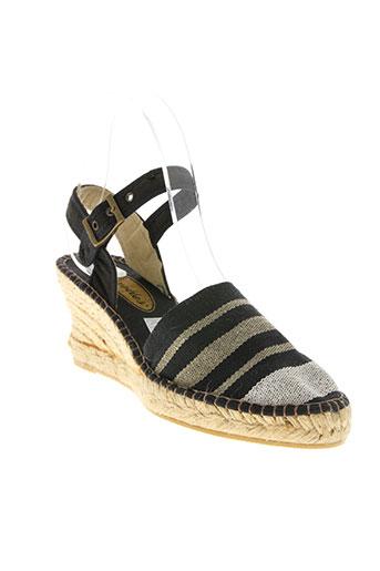 flexettes chaussures femme de couleur noir