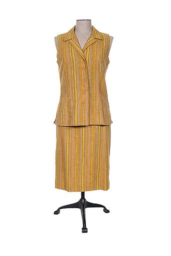 Veste/jupe jaune PAUL MAUSNER pour femme