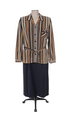Veste/robe bleu REGINE pour femme
