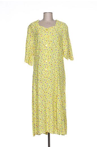 markwald robes femme de couleur jaune