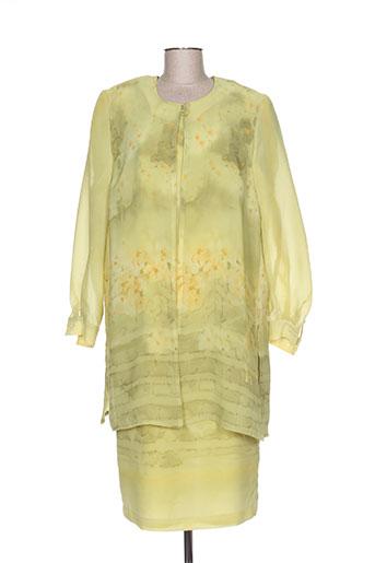 Veste/robe vert CREATIONS SONIA pour femme