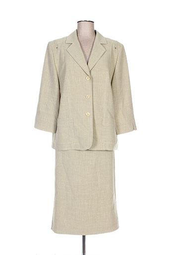 Veste/jupe vert REGINE pour femme