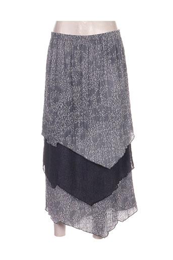 regine jupes femme de couleur gris