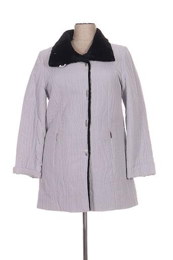 havrey manteaux femme de couleur gris