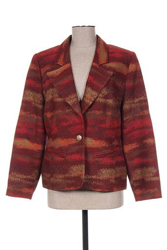 Veste casual rouge FRANCOISE DE FRANCE pour femme