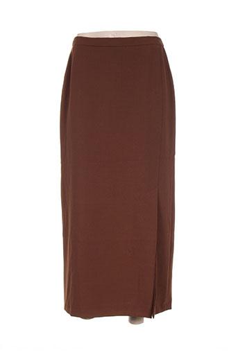 francoise de france jupes femme de couleur marron