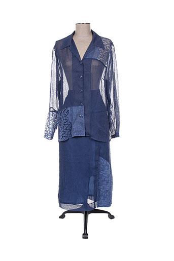 Veste/jupe bleu CHRISTIAN MICHEL pour femme