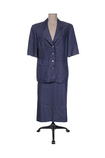 Veste/jupe bleu FRANCOISE DE FRANCE pour femme