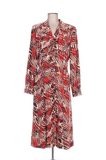 francoise f robes femme de couleur rouge