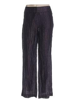 Pantalon casual violet FRANKENWÄLDER pour femme