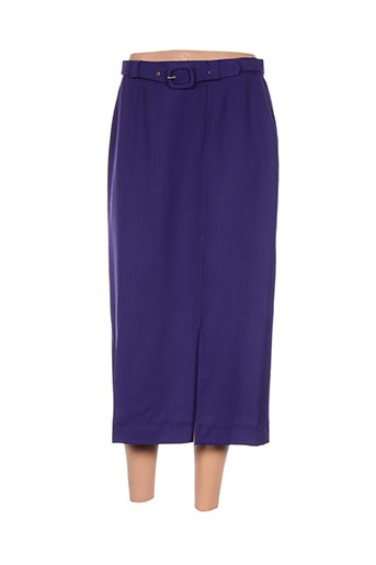 francoise de france jupes femme de couleur violet