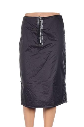 Jupe mi-longue noir COTE SUD pour femme