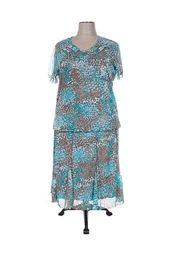 telmail ensemble femme de couleur bleu