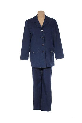 Veste/pantalon bleu CHRISTIAN MARRY pour femme