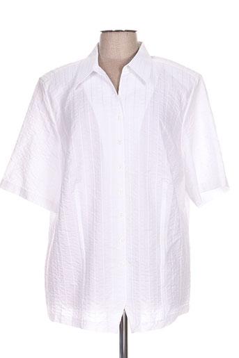 erfo vestes femme de couleur blanc