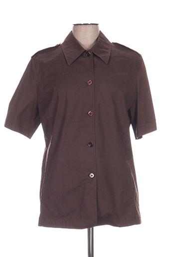 caractere chemises homme de couleur marron