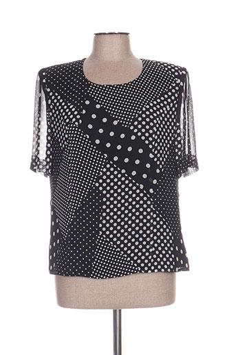 coutureine chemises femme de couleur noir