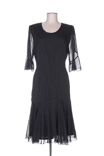 christian michel robes femme de couleur noir