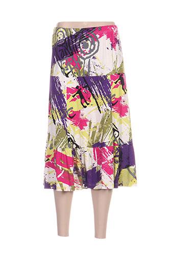 mary west jupes femme de couleur violet