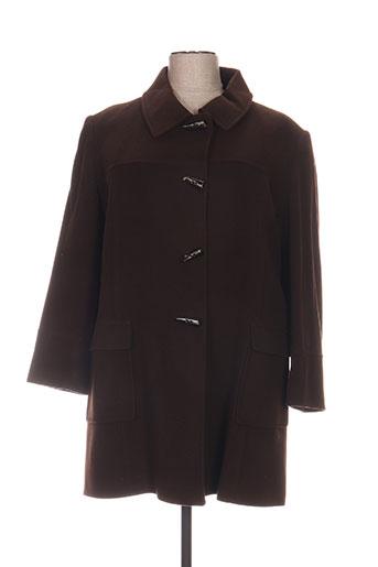 paloma manteaux femme de couleur marron