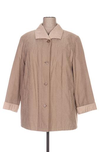 lebek manteaux femme de couleur beige