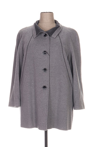 Manteau long gris FASHION pour femme