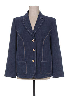 Veste chic / Blazer bleu REGINE pour femme