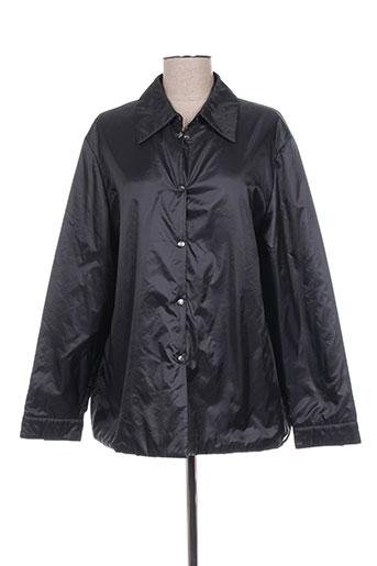 elena miro manteaux femme de couleur noir