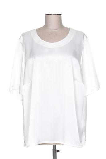 somewhere chemises femme de couleur blanc