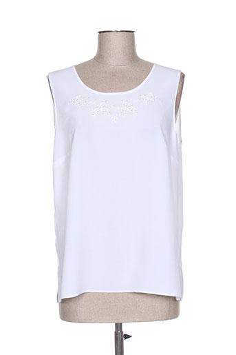 francoise de france t-shirts femme de couleur blanc