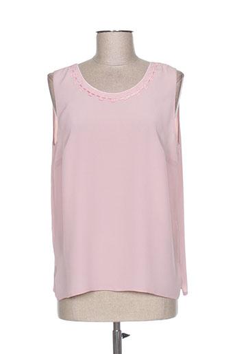 francoise de france chemises femme de couleur rose