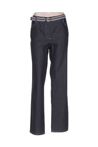 gerry weber pantalons femme de couleur bleu