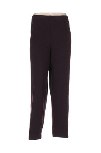 telmail pantalons femme de couleur violet