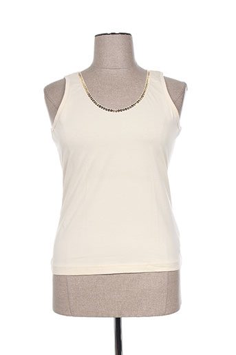 frank eden chemises femme de couleur beige
