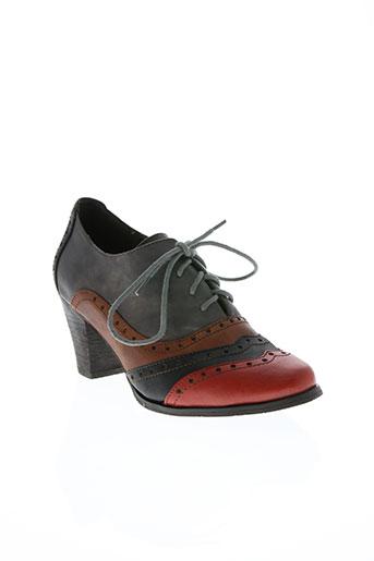 laura vita chaussures femme de couleur gris