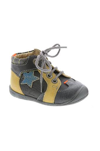 catimini chaussures garçon de couleur gris