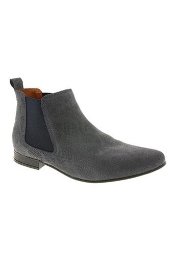 w style chaussures femme de couleur bleu